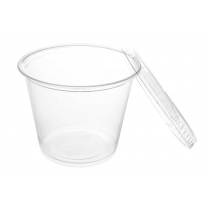 PORTION CUP, 5.5 OZ, CLEAR, POLYPROPYLENE - 2,500 PER CASE