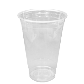 KARAT 20 OZ CLEAR PLASTIC PET CUP, C-KC20 - 1,000 CUPS PER CASE