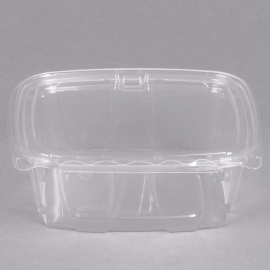 DART 32 OZ CLEAR PAC SAFESEAL CONTAINER W/LID, (200)