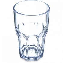 CARLISLE 10 OZ LOUIS CLEAR ROCKS TUMBLER