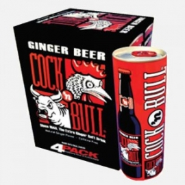 COCK 'N BULL GINGER BEER 12 OZ CANS