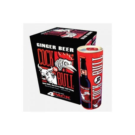 COCK N BULL GINGER BEER 12 OZ CANS