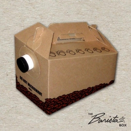 "JAVA JACKET 96 OZ HOT BEVERAGE SERVER ""BARISTA BOX"" - 25 PER CASE"