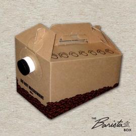 "JAVA JACKET 96 OZ HOT BEVERAGE SERVER ""BARISTA BOX"" - 25 PER CASE"