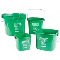 SAN JAMAR 3 QT GREEN SANITIZING PAIL, W/HANDLE, KLEEN-PAIL (EACH)