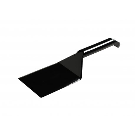 "FINELINE 10"" BLACK SERVING SPATULA, INDIVIDUALLY WRAPPED, 3313-BK (48)"