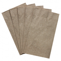 "KARAT DINNER NAPKINS, 2-PLY, NATURAL, 15"" X17"", 1/8 FOLD - 3,000 NAPKINS/CASE"