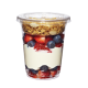 FABRI-KAL 12 OZ CLEAR CUP WITH LIDS AND 4 OZ INSERTS FOR PARFAITS - 500 PER CASE