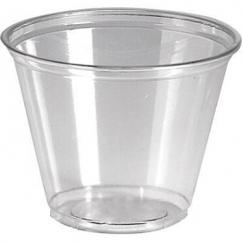 KARAT 9 OZ CLEAR PLASTIC PET CUP, C-KC9 - 1,000 PER CASE