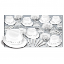 CHAIRMAN WHITE ASSORTMENT FOR 50 PEOPLE - 88939-W50