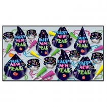 NEON MIDNIGHT ASSORTMENT FOR 50 PEOPLE - 88057- 50