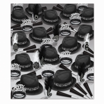 BEISTLE CHAIRMAN NEW YEAR'S PARTY FAVOR KIT FOR 100