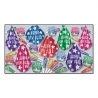 BEISTLE MIDNIGHT STAR NEW YEAR'S PARTY FAVOR KIT FOR 50 PEOPLE