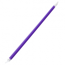 "KARAT 9"" PURPLE STRAW, CLEAR FILM WRAPPED, GIANT DIAMETER - 2,500 PER CASE"