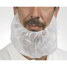 BEARD NET / PROTECTOR, LATEX FREE (100)