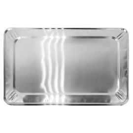 FOIL LID FOR FULL SIZE STEAM TABLE PANS, ECONOMY (50)