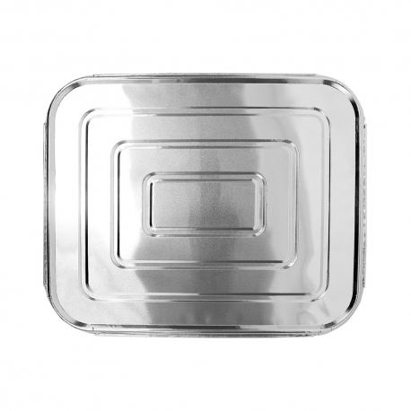 FOIL LID, ECONOMY, FOR 1/2 SIZE STEAM TABLE PAN (100)