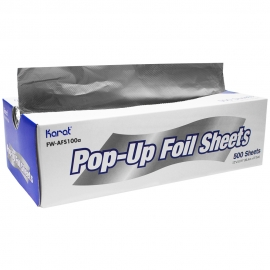 "FOIL POP-UP SHEETS, 9"" X 10-3/4"", ECONOMY (3000)"