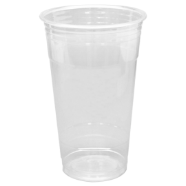 KARAT 24 OZ CLEAR PLASTIC PET CUP, C-KC24 - 600 PER CASE