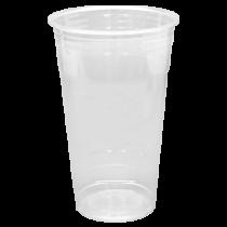 CUP, PLASTIC, 24 OZ, CLEAR PET