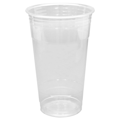 CUP, PLASTIC, 24 OZ, CLEAR PET