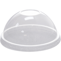 LID, PLASTIC, CLEAR, DOME NO H