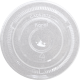 LID, PLASTIC, CLEAR, SLOTTED F