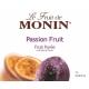MONIN PASSION FRUIT PUREE, PLASTIC LITER BOTTLE - 4 PER CASE