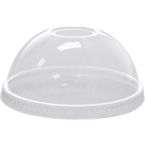 LID, PLASTIC, CLEAR, DOME W/RE