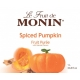 MONIN SPICED PUMPKIN PUREE, PLASTIC LITER BOTTLE - 4 PER CASE