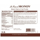 MONIN BLACK CHERRY PUREE, PLASTIC LITER BOTTLE - 4 PER CASE