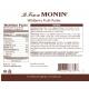 MONIN WILDBERRY PUREE, PLASTIC LITER BOTTLE - 4 PER CASE