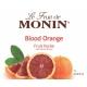 MONIN BLOOD ORANGE PUREE, PLASTIC LITER BOTTLE - 4 PER CASE