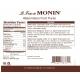 MONIN WATERMELON PUREE, PLASTIC LITER BOTTLE - 4 PER CASE