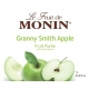 MONIN GRANNY SMITH APPLE PUREE, PLASTIC LITER BOTTLE - 4 PER CASE