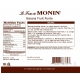 MONIN BANANA PUREE, PLASTIC LITER BOTTLE - 4 PER CASE