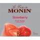 MONIN STRAWBERRY PUREE, PLASTIC LITER BOTTLE - 4 PER CASE
