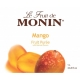 MONIN MANGO PUREE, PLASTIC LITER BOTTLE - 4 PER CASE