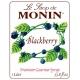 MONIN BLACKBERRY FLAVORED SYRUP, PLASTIC LITER BOTTLE - 4 PER CASE