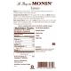MONIN ESPRESSO FLAVORED SYRUP, PLASTIC LITER BOTTLE - 4 PER CASE