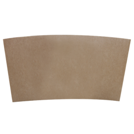 "KARAT KRAFT PAPER COFFEE ""BUDDY"" HOT CUP SLEEVE FOR 10-24 OZ CUPS (1,000)"