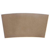 SLEEVE, PAPER, KRAFT, COFFEE