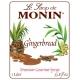 MONIN GINGERBREAD FLAVORED SYRUP, PLASTIC LITER BOTTLE - 4 PER CASE