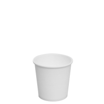CUP, PAPER, HOT, 4 OZ, WHITE (