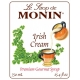 MONIN IRISH CREAM FLAVORED SYRUP, PLASTIC LITER BOTTLE - 4 PER CASE