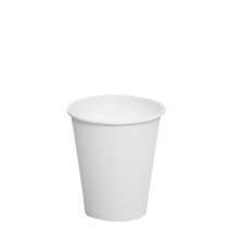 CUP, PAPER, 8 OZ, WHITE, HOT C