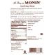 MONIN SOUTH SEAS BLEND FLAVORED SYRUP, PLASTIC LITER BOTTLE - 4 PER CASE