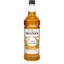 MONIN TOASTER MARSHMALLOW FLAVORED SYRUP, PLASTIC LITER BOTTLE - 4 PER CASE