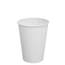 KARAT 12 OZ  WHITE PAPER HOT CUP C-K512W (1000/CS)