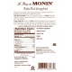 MONIN RUBY RED GRAPEFRUIT FLAVORED SYRUP, PLASTIC LITER BOTTLE - 4 PER CASE